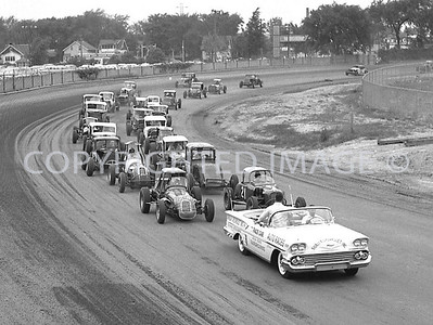 Detroit Fairgrounds, Parade Lap, 1958