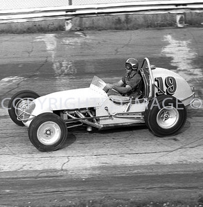 Anderson, Nelson Stacy Qualifying For Little 500, 1959