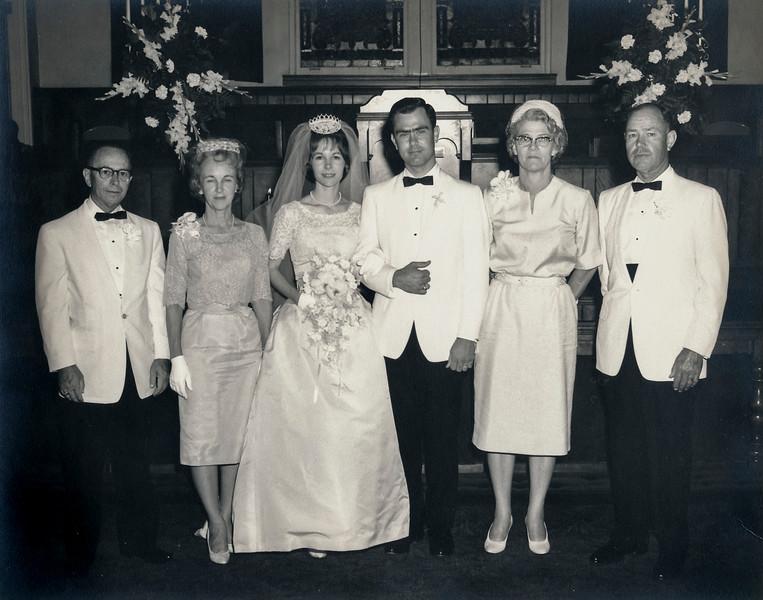 1964 wedding