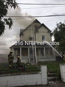 3 Alarm Structure Fire - 53 Campbell Terrace, Pawtucket, RI - 9/6/15