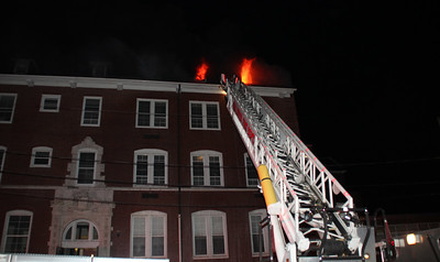 3 Alarm Fire 1017 Middle St. Fall River, Ma. 2/1/19