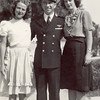 1944: October 1; Barbara Hagerty with Ken and Dolores Sederquist (married 6 weeks), South Gate, CA