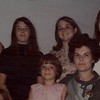 1968: Cerritos, CA; Jeanette Hagerty, Helen, Mary and Donna in the back row; Janet and Dolores in the front row