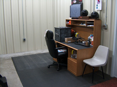 The Ken-Cliff Pro Shop 'Operations Center' area.  Before we set up the new mill and other equipment we're going to install carpet.