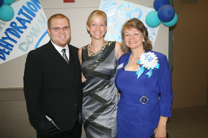 Greg & Keegan Ball with Rhonda Fincher