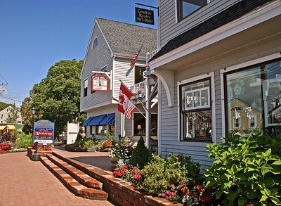One Of The Many Little Shops that Line Dock Square in Kennebunkport