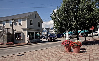 A Late Summer Afternoon in Kennebunkport Maine