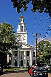 The South Congregational Church in Kennebunkport ME