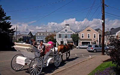 Carriage Ride In Kennebunkport