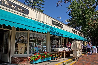 Stores in Dock Square Area of Kennebunkport Maine