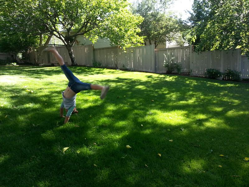 Kennadee F. - Uncle's Backyard -  Salt Lake City, Utah