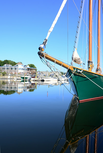 The Schooner Eleanor at rest at Arundel Wharf