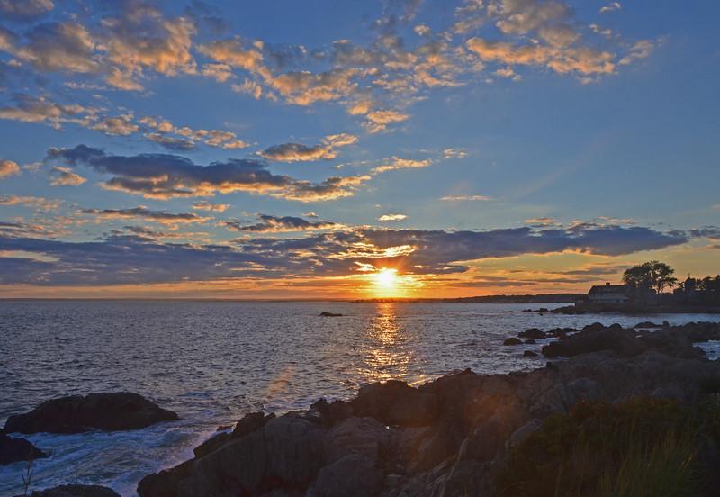 Ocean Avenue sunset