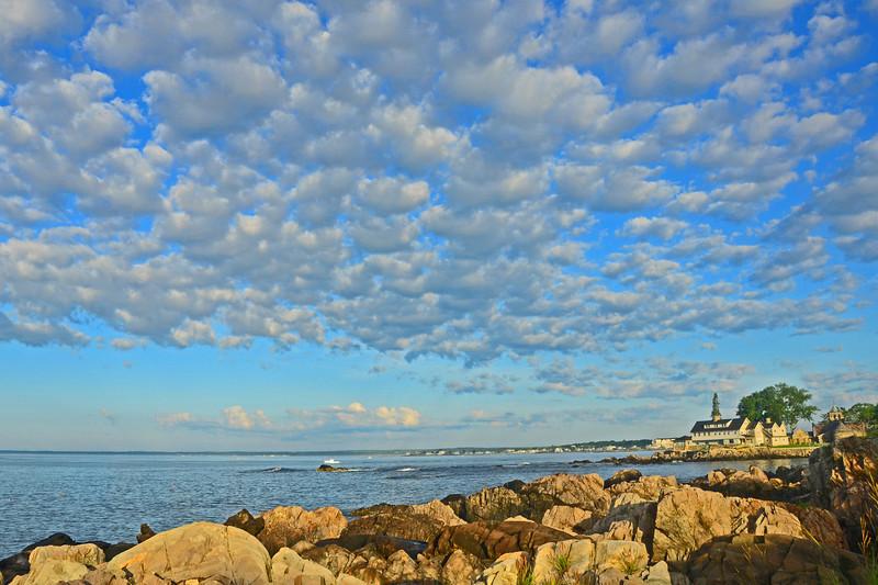 Ocean Avenue Clouds