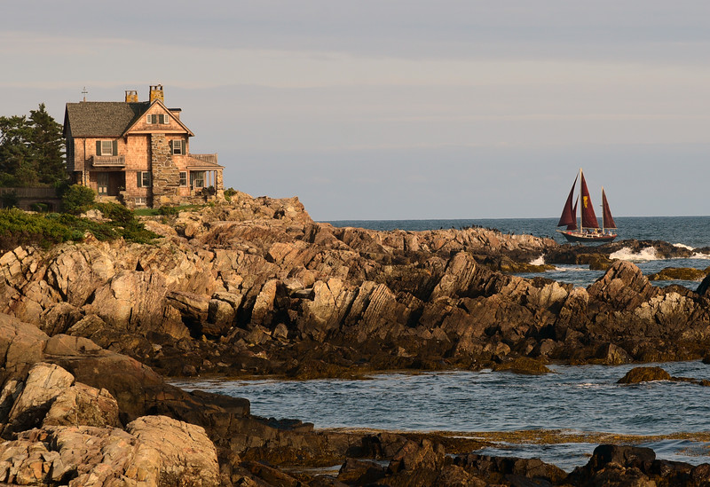 The Pineaopple Ketch, The Stone House