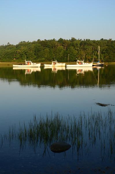 Lobster boats, Kennebunk River