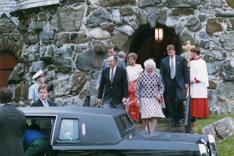 President, St. Ann's Church, 1990