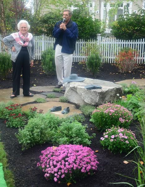 9-29-11 Ganny's Garden Dedication