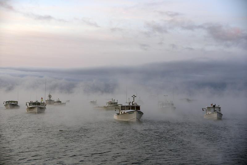 Sea smoke, Cape Porpoise