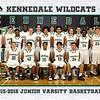 Junior varsity basketball 2016