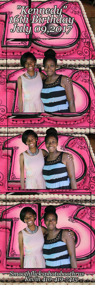 Kennedy Sweet 16th Birthday Celebration July 09,2017
