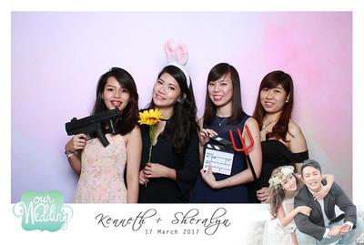 Kenneth + Sheralyn Photobooth Album