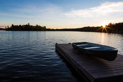 Kennisis Lake - Sunset
