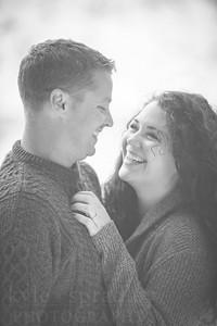 Kenny + Stephanie | Engagement Photos | Snowy Range, WY  Photo by Kyle Spradley | © Kyle Spradley Photography | www.kspradleyphoto.com