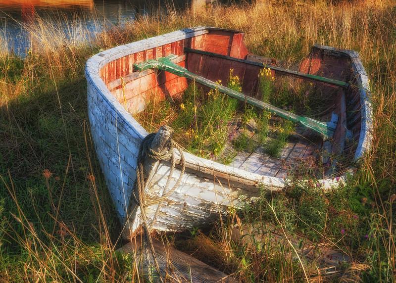 Abandoned Rowboat