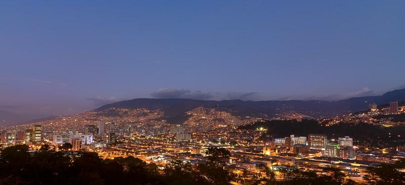 Evening in Medellin