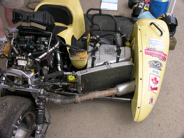 F2 sidecar - engine in the front