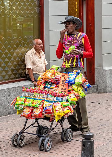 Manizalez Street Vendor