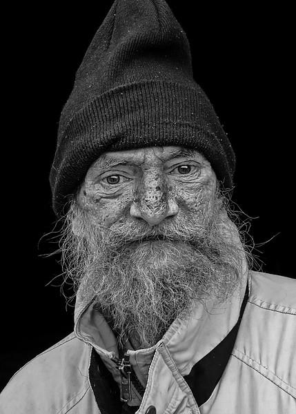Man in Knit Cap