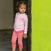 Young Girl in Doorway