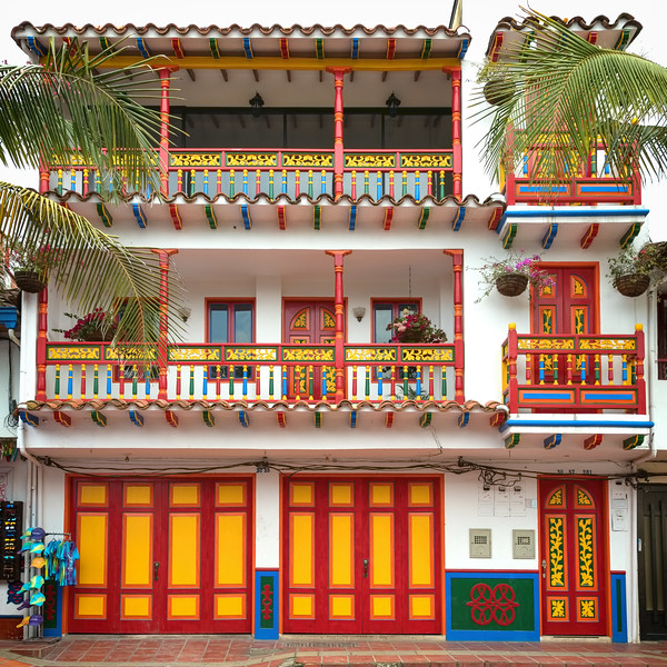 A Building in Guatape