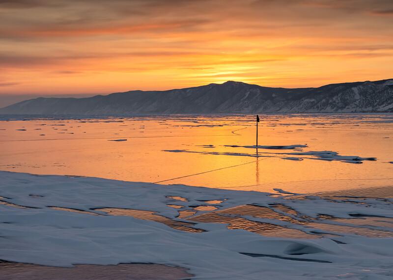 Sunrise at Barguzinsky Bay