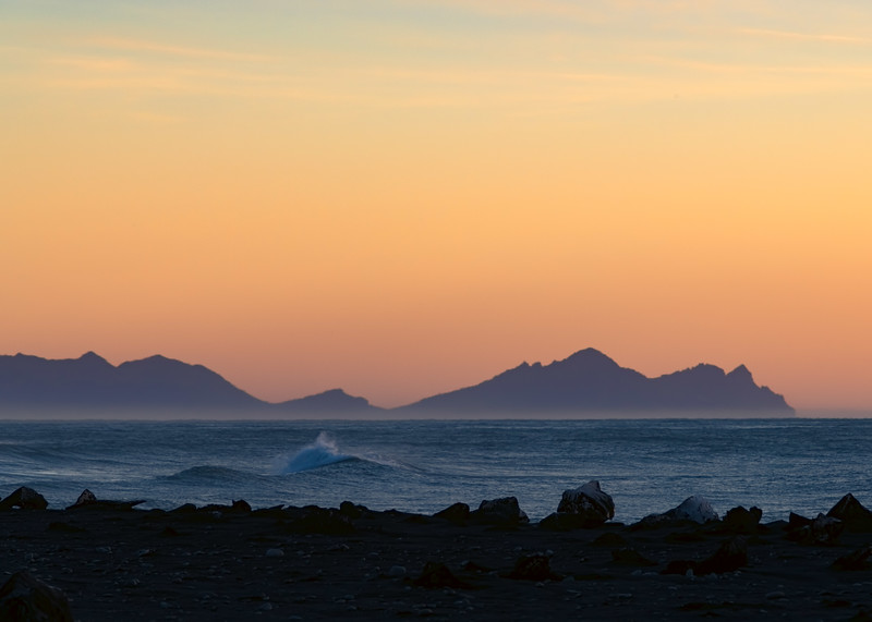 Dawn in Southern Iceland
