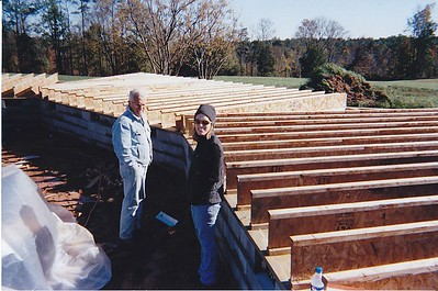 2004 - We moved to new 20 acres location and begun construction on new farm house