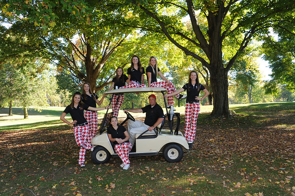 Girls Golf 2013
