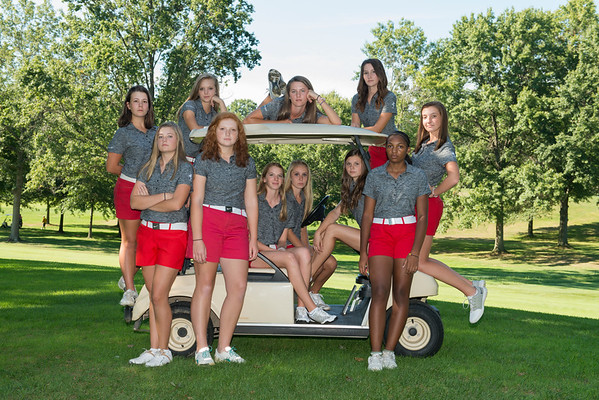 Lady Rough Rider Golf 2016