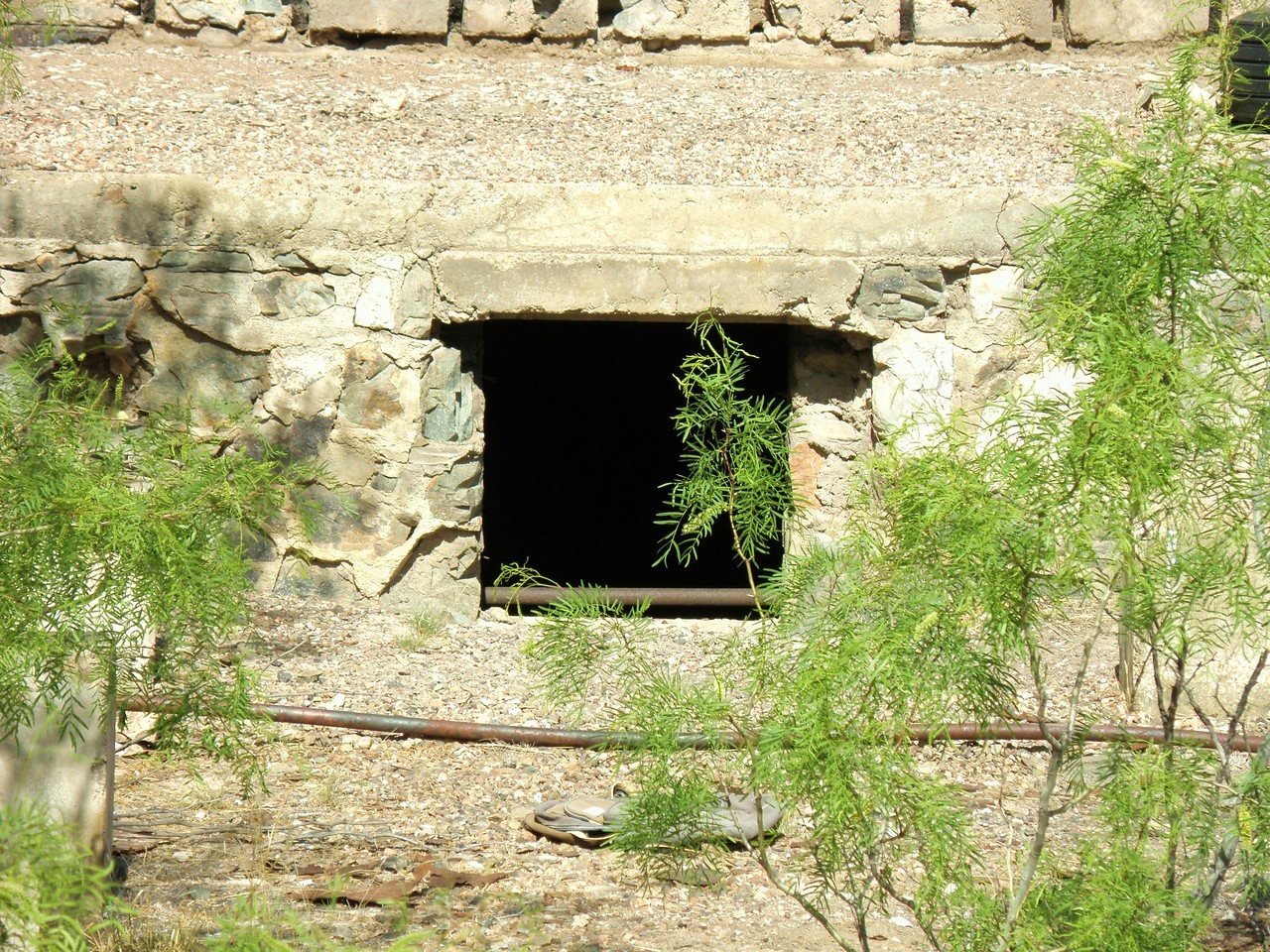 The Window to the Utility Room and Crawl Spaces