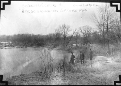 Lakewood Rd. 1913 flood.