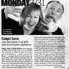 Peggy and Brad article in the Scene magazine.