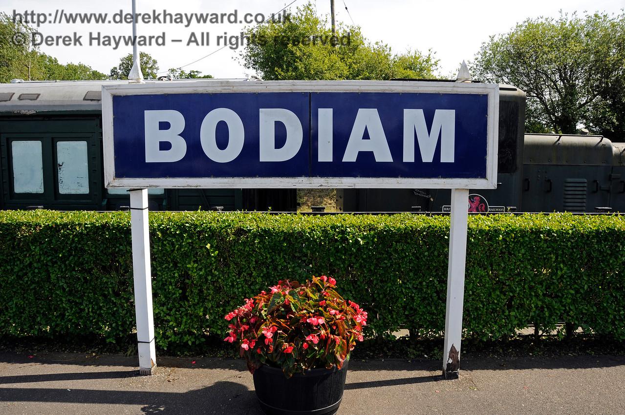 Bodiam Station.  24.06.2015  13036