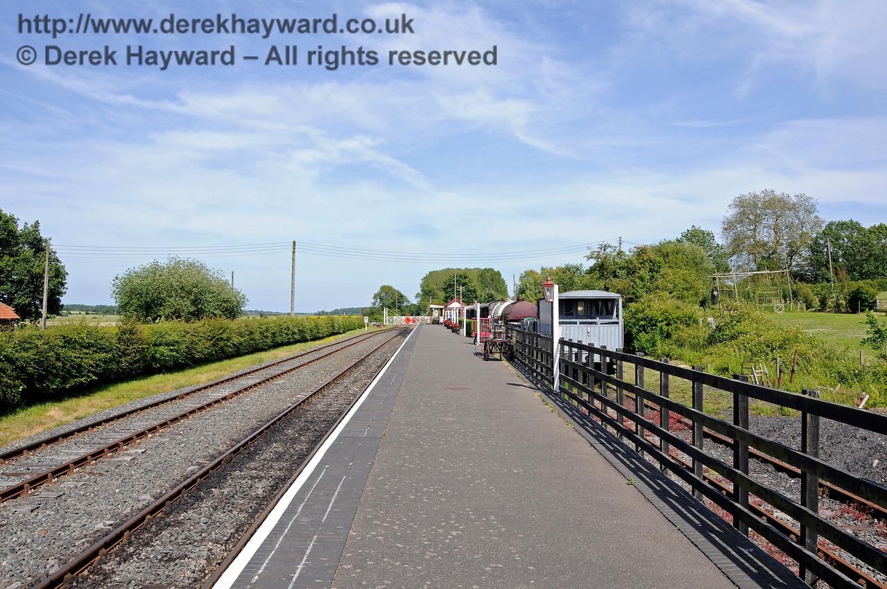 Bodiam Station.  24.06.2015  13032