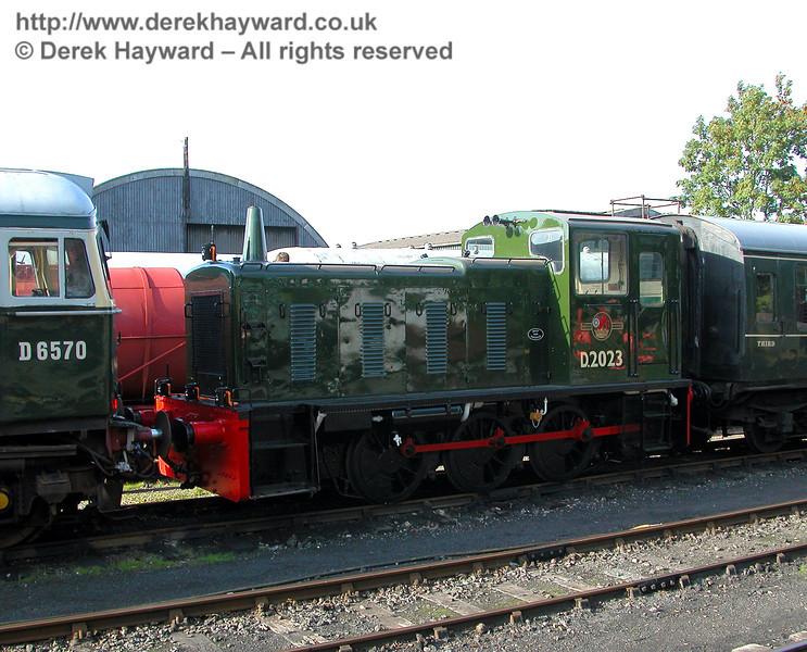 D2023 at Tenterden. 19.09.2006
