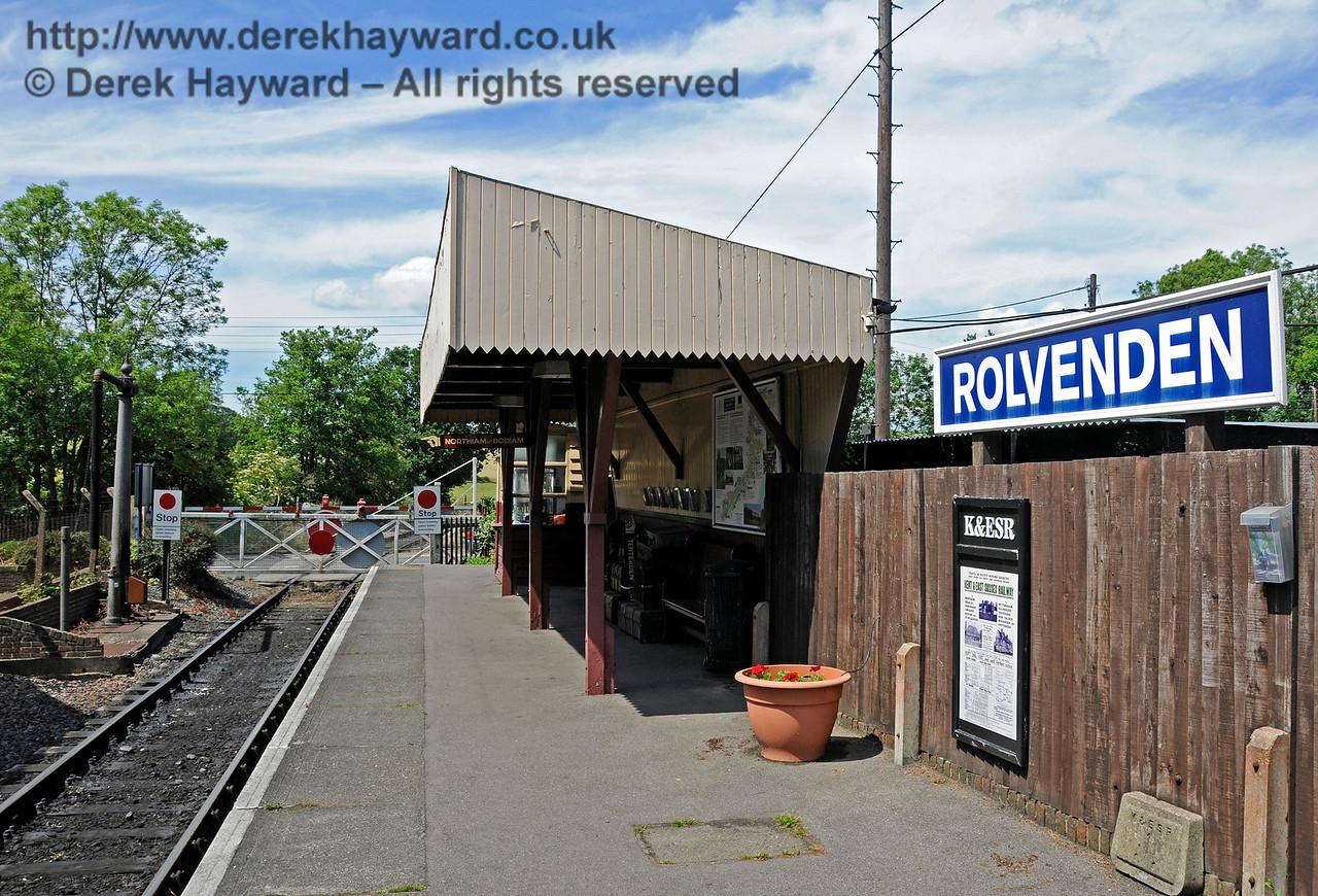 Rolvenden Station.  24.06.2015  12955