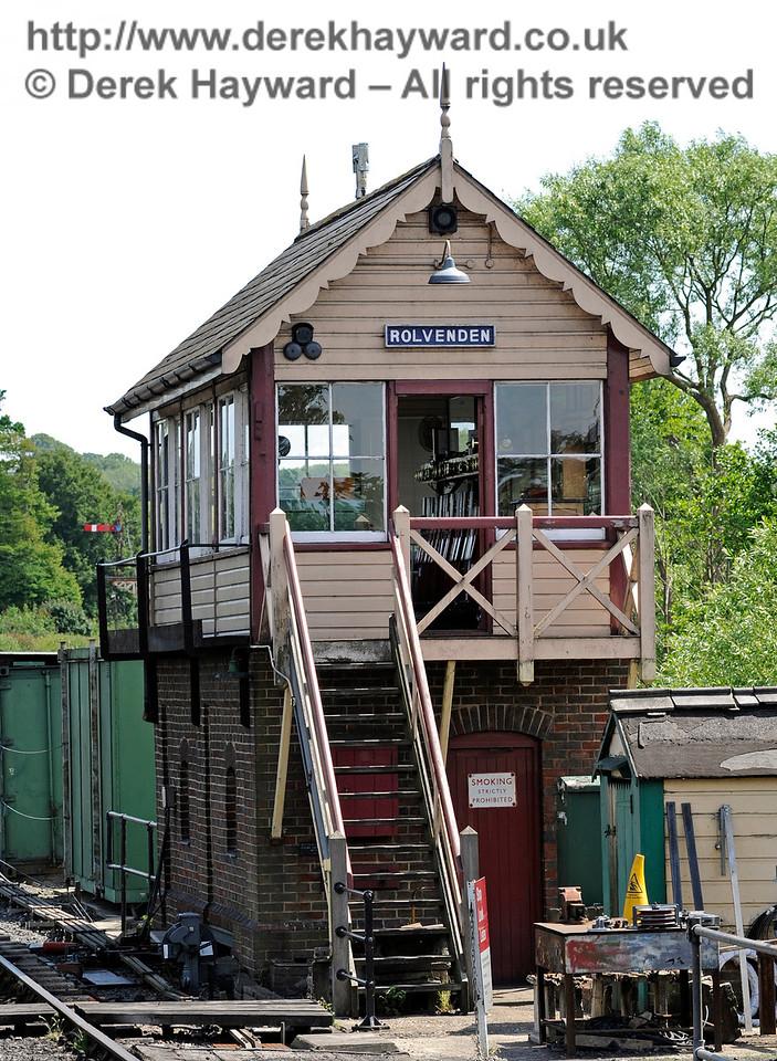 Rolvenden Station.  24.06.2015  11418