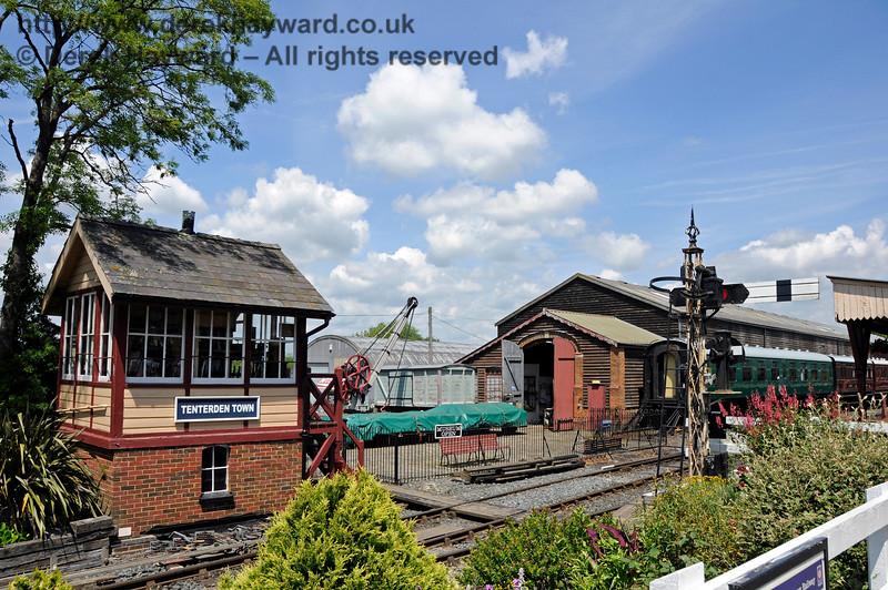 Tenterden Town Station 24.06.2015  12928