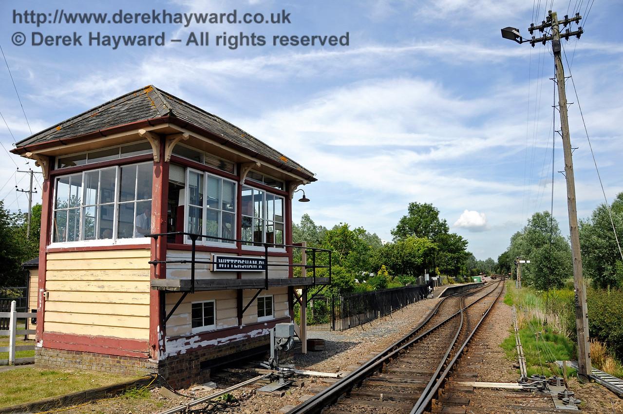 Wittersham Road Station.  24.06.2015   12995